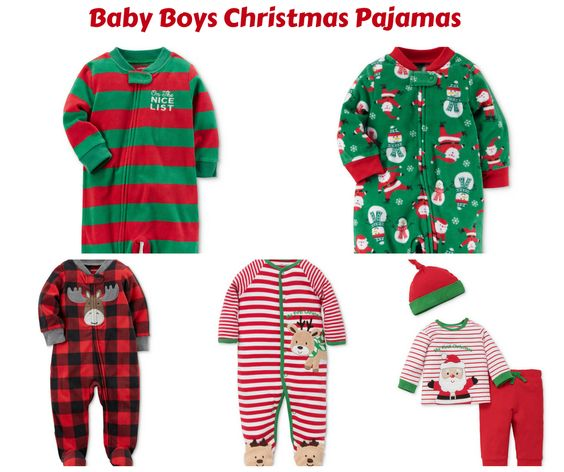 Baby Boy Christmas Pajamas