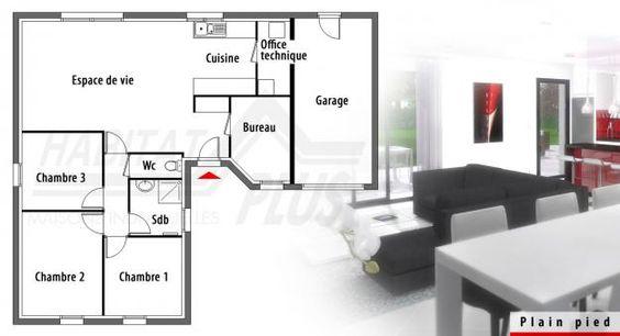 Construction maison futura solea habitat plus plans for Modele maison habitat plus