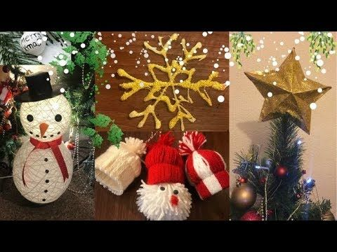 Christmas Decorations Diy Christmas Deco Xmas Decoration Youtube Diy Christmas Deco Xmas Decorations Christmas Decor Diy