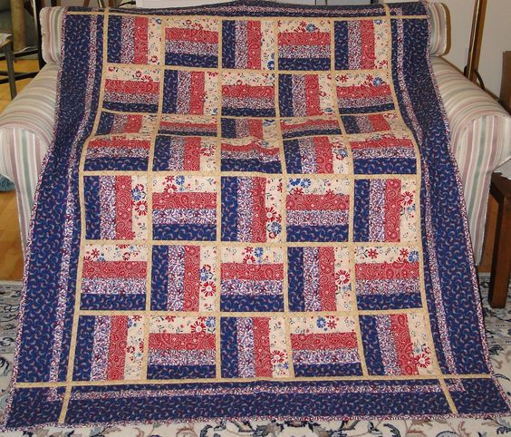 Easy Quilt Patterns Rail Fence : Pinterest The world s catalog of ideas