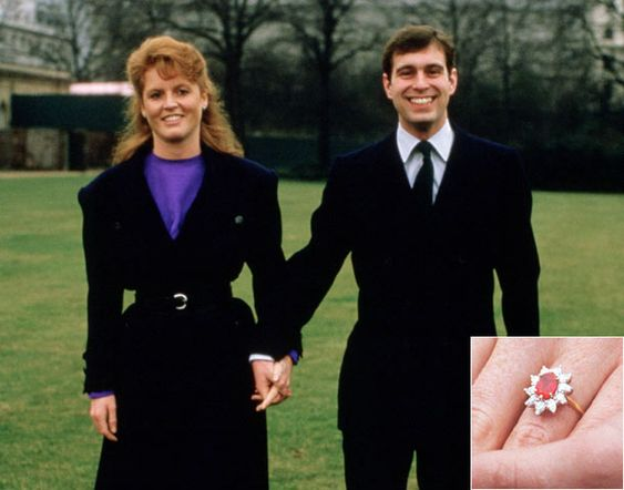 The engagement rings adorning the hands of the British royals | My Wedding Scrapbook