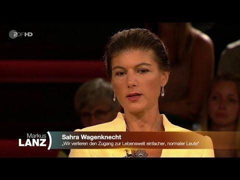 Die Vergiftete Diskussion Sahra Wagenknecht 12 09 2019 Markus Lanz Bananenrepublik Youtube Youtube Politics Interactive