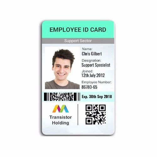 Sample Identity Card Unique Employee Id Card Employee Id Card Pany