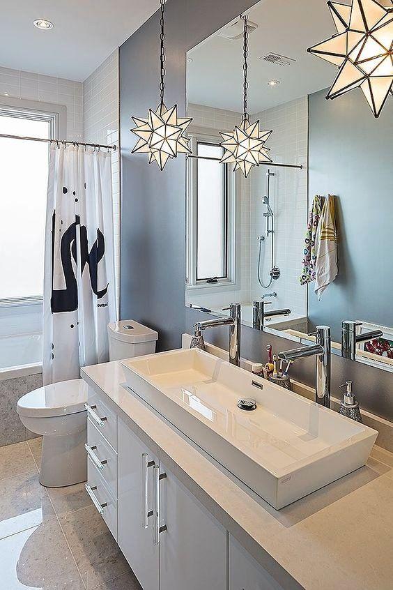 Modern Bathroom Lights Ideas Inspirational 25 Creative Modern Bathroom Lights Ideas You Ll In 2020 Double Sink Bathroom Modern Bathroom Vanity Bathroom Vanity Designs