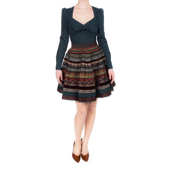 ribbon skirt - lena hoschek
