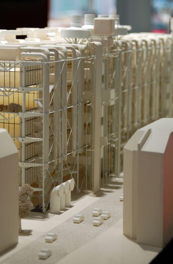 Centre Pompidou, Paris - Scalemodel - RichardRogers