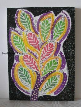 Tiere und Kunst von Herbivore11 - Wunderbäumchen Nr. 1