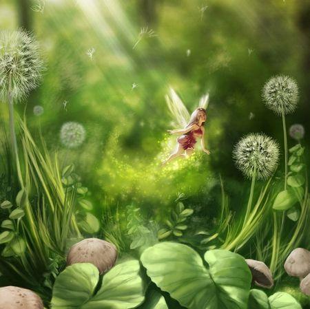 Картинки природы сказочной