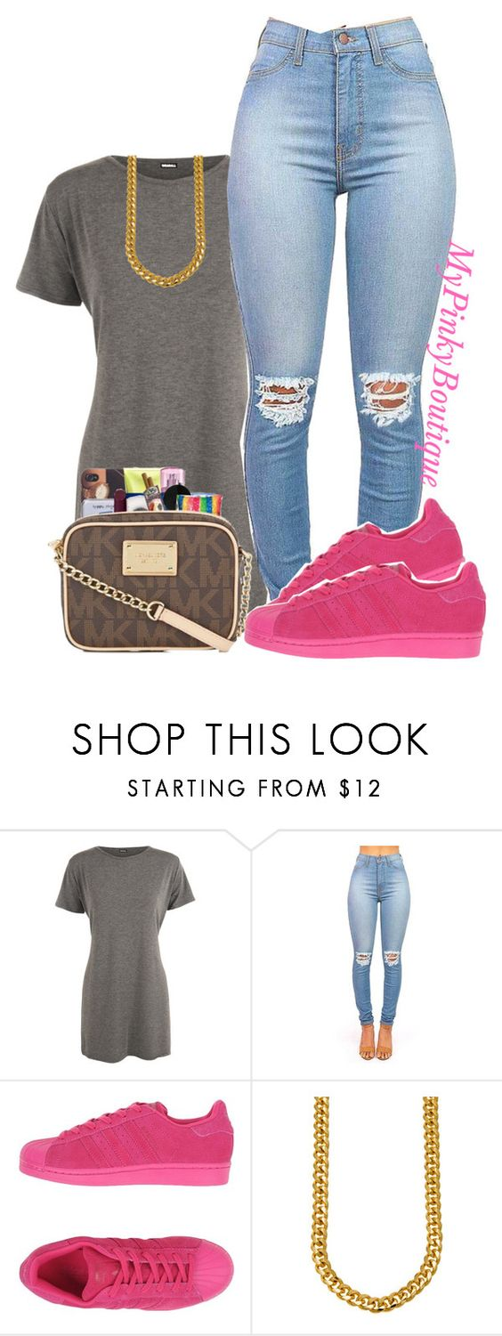"""Untitled #1035"" by gorgeousmama29 ❤ liked on Polyvore featuring WearAll and adidas Originals"