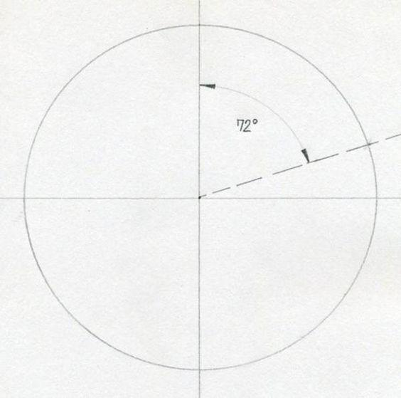 Como Dibujar Una Estrella De 5 Puntas Con Compas Paso 4 Dibujos De Estrellas Como Dibujar Estrellas