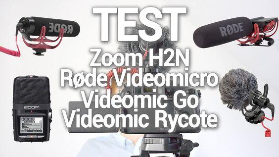 Mikrofon-Test - Røde Rycote Videomic - Videomic Go - Videomicro - Zoom H2N Røde Rycote Videomic Røde Videomic Go Røde Videomicro und Zoom H2N im Soundvergleich! Links: - Røde Videomic Go: http://amzn.to/20nh5FQ - Røde Videomicro: http://amzn.to/1RYzhAM - Røde Rycote Videomic: http://amzn.to/1SCOCFN - Zoom H2N: http://amzn.to/1QFj0NV - Zoom H2N Halterung: http://amzn.to/1SW8TYw - Zoom H2N Kabel für Kamera: http://amzn.to/1TAA768 0:49 Videomic Go 1:07 Videomicro 1:31 Videomic Rycote 1:53 Zoom…