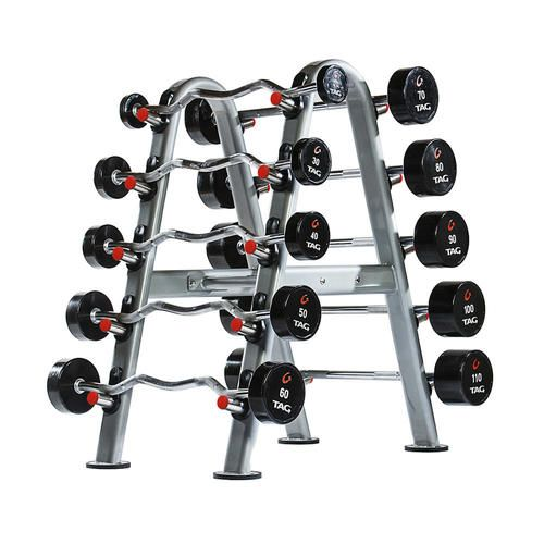 Tag Fitness Fixed Barbell Rack At Home Gym Barbell Set No