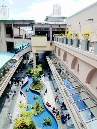 Ala Moana Center ~ the world's largest outdoor shopping mall, Ala Moana is home to nearly 300 retail stores from high-end luxury brands to department and specialty stores. There are plenty of dining options including an extensive food court, plus an entire floor of restaurants on the center's Ho'okipa Terrace.