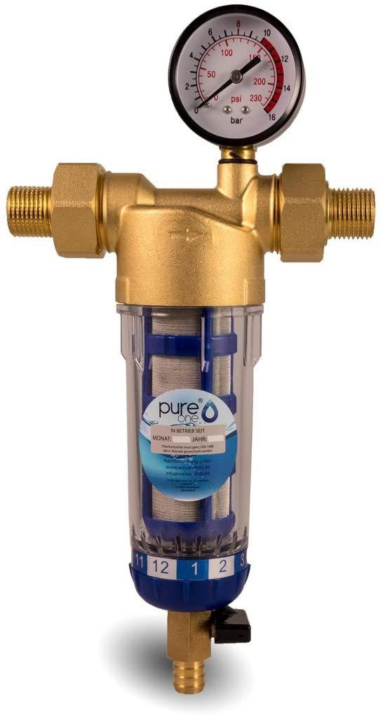 """Wasserfilter Gehäuse 10 ZOLL 3//4/"""" IG 4 SEDIMENT Vor Filter Hauswasser Brunnen"""