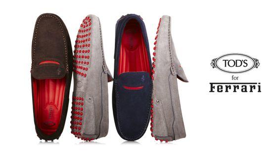 Colecção Tod's for Ferrari