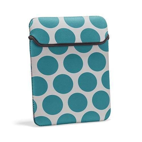 Your trusty tablet finally has a cute and stylish home! This Tote-A-Tablet has a fold-over closure and padding to keep your tablet safe all around town!