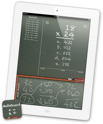 Neat iPad math app