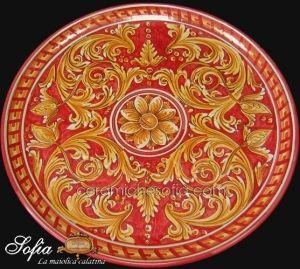Piatti in ceramica di caltagirone  Ceramiche di Caltagirone SOFIA ...