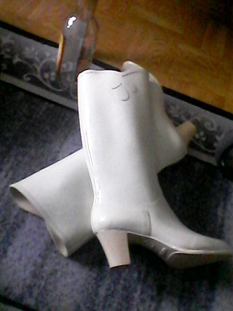 Nokia Evita white rubberboots   White rain boots, Womens