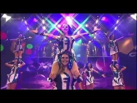 Dance Society - Showtanz Ausserirdisch bei der hessischen Weiberfastnacht 2015 - YouTube