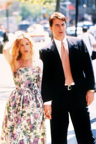 The 50 best outfits Carrie Bradshaw ever wore on Sex and the City.