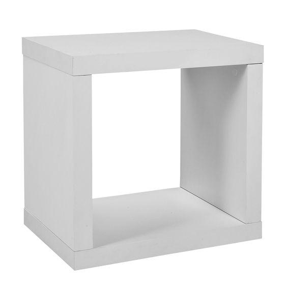 Cube Blanc Blanc Kubico Les Etageres A Composer Etageres Et Livings A Composer Tout Pour Le Rangement Meuble Rangement Mobilier De Salon Meuble Deco