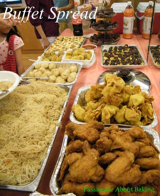 Party Food Spread For Kids: Party Buffet Food Ideas