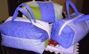Resultado de imagem para bolsa maternidade em tecido pap