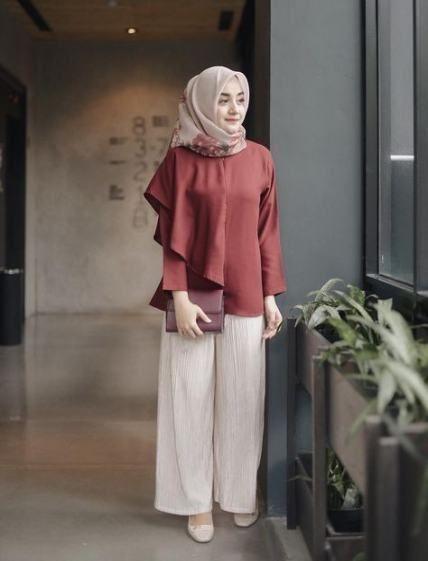Baju Santai Wanita Hijab