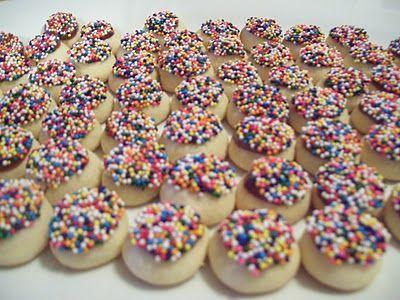 Christmas cookies: Velvet Cookies