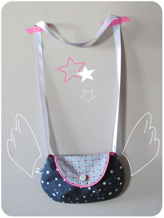 sac de fille by tata cousette // tuto Ma Petite couture //