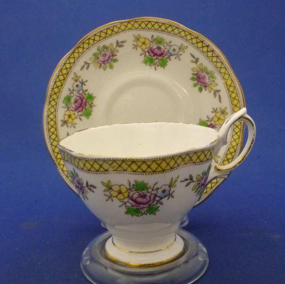 Trellis Trellis Pattern And Tea Cups On Pinterest