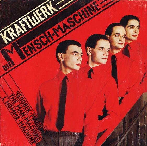 """CvA081. Kraftwerk - """"Die Mensch-Maschine"""" by Karl Klefisch / Kling Klang 1978 / #Albumcover"""