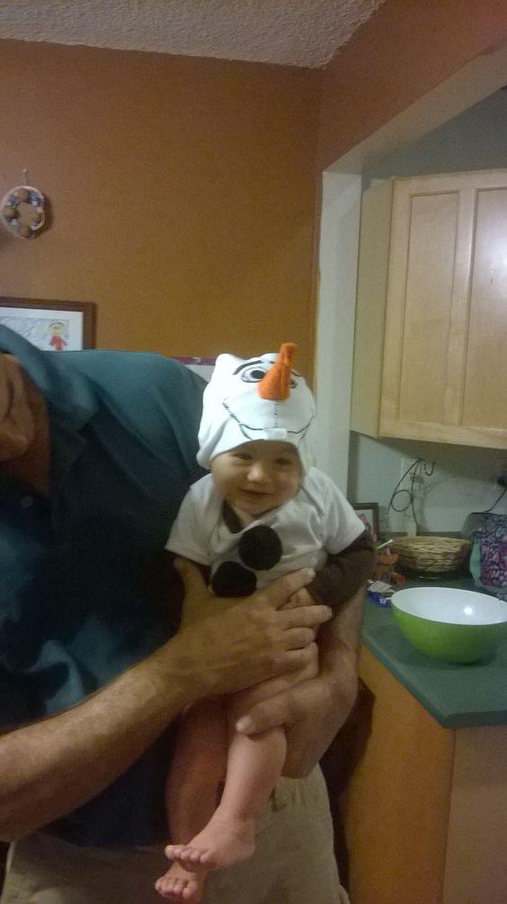 Baby Olaf costume