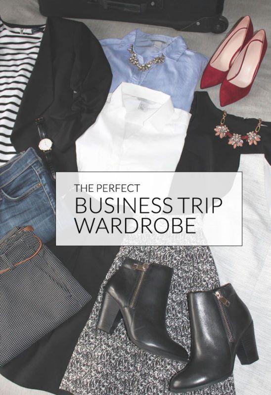 The Perfect Business Trip Wardrobe | eBay