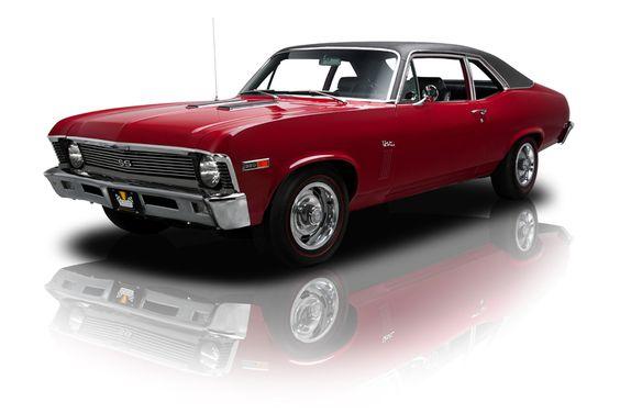 Chevrolet Nova SS 350 M20 4 Speed 1969.