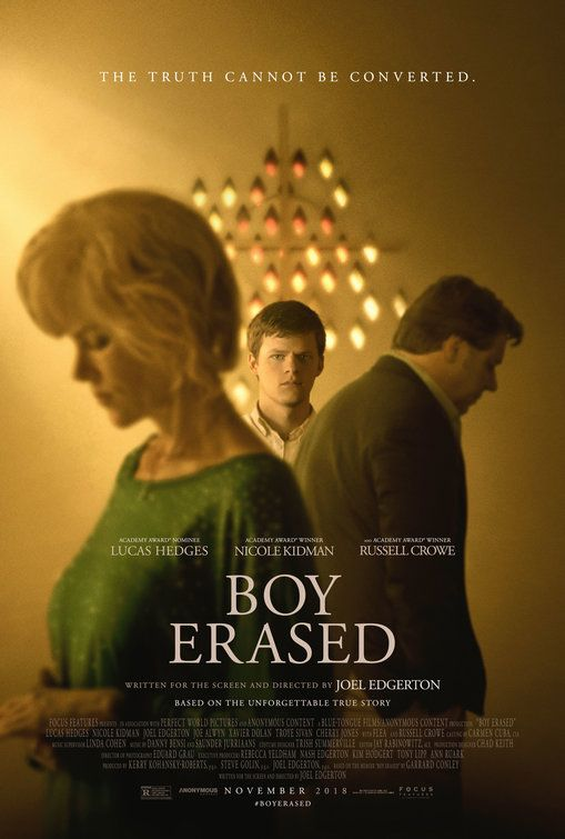 Click To View Extra Large Poster Image For Boy Erased Movie