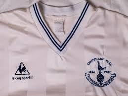 Tottenham Hotspur centenary shirt, 1982.