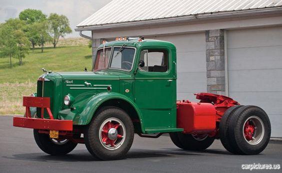 1948 Mack Truck : Mack series l single axle truck trucks
