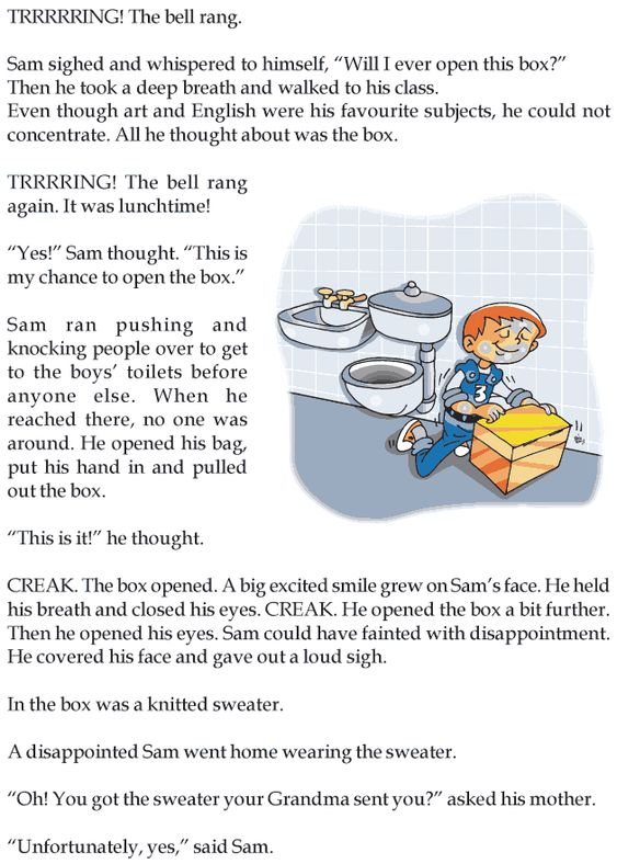 Worksheets Story For Grade 3 grade 3 reading lesson 1 mystery whats inside the box stories box