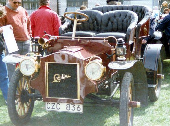 Cadillac Model E Touring 1905