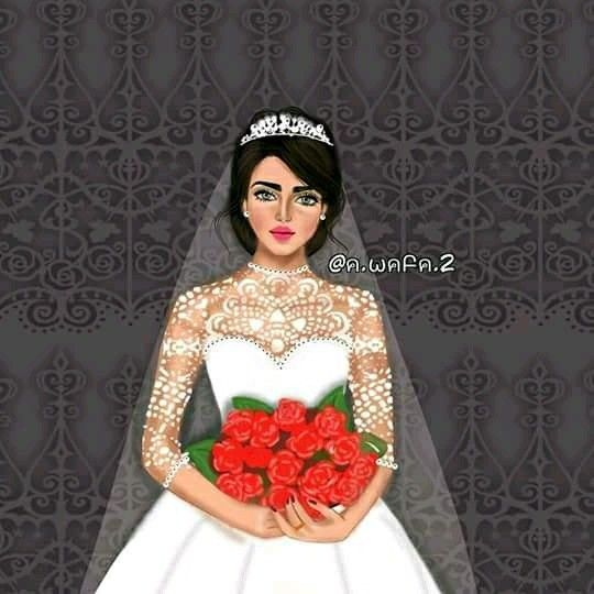 Pin By Haneen Haneen On Girly M Beautiful Girl Drawing Wedding Drawing Girly M