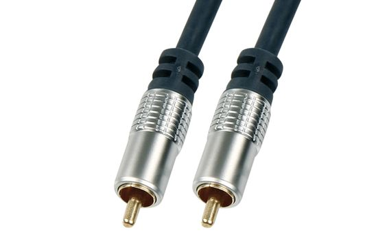 Digital Koaxial Kabel – Cinch – 5 Meter