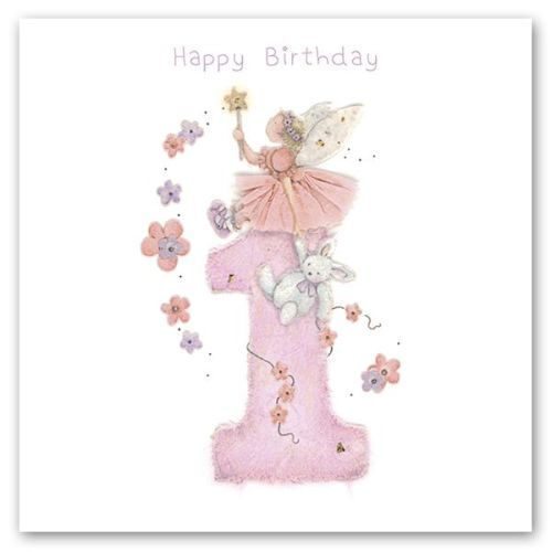 Personalised Birthday Card Daughter Little Princess First 1st 2 3 4 Sister Niece