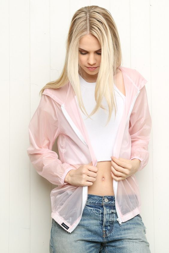 Brandy ♥ Melville | Scar Windbreaker Jacket - Clothing