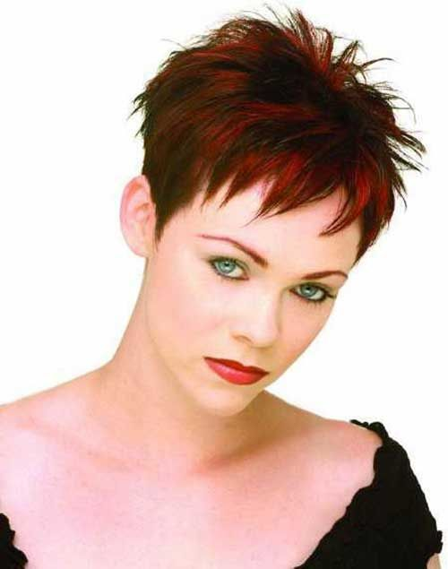 View Source Image Short Spiky Hairstyles Short Hair Styles Thick Hair Styles