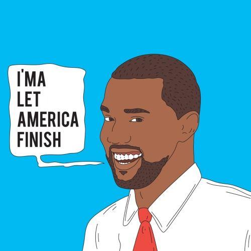 Kanye West For President Aesthetic Art Cool Art Art