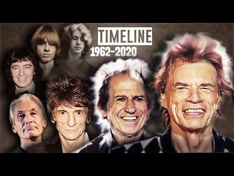 The Rolling Stones What Happened Animated Timeline Rolling Stones Best Songs Keith Richards