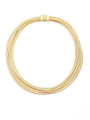 Marco Bicego - Lunaria 18K Yellow Gold Necklace - Saks.com
