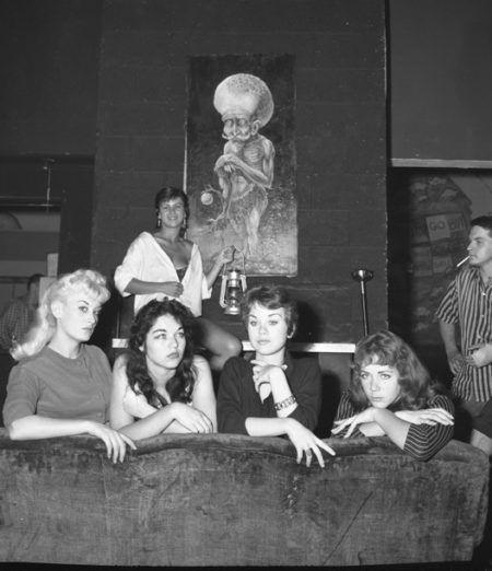 Participantes Miss Beatnik, Venice Beach, California, 1959